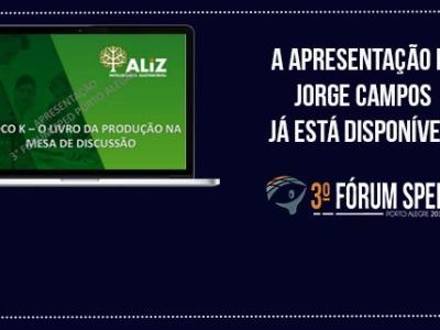 """Fórum SPED Porto Alegre 2015: Apresentação """"Bloco K, a produção na mesa de discussão"""" (Jorge Campos)"""