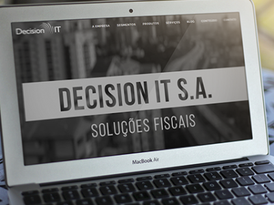 Novo Site da Decision IT