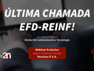 Webinar Última Chamada EFD-REINF