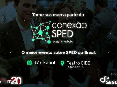 Torne sua marca parte do maior evento sobre SPED do Brasil