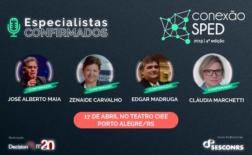 Grandes nomes da área fiscal confirmam presença no maior evento sobre SPED do Brasil